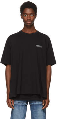 Balenciaga Black Speedhunter Double Hem T-Shirt