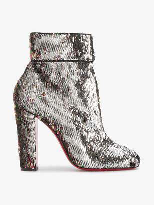 Christian Louboutin Moulamax 100 sequined ankle boots