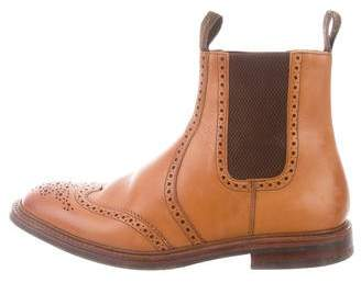 Loake 1880 Leather Brogue Chelsea Boots