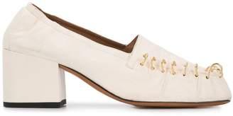 Marni chunky heel pumps