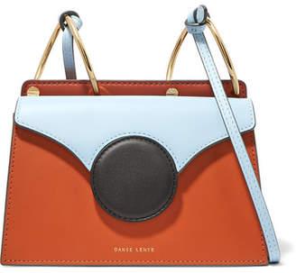 Danse Lente Phoebe Mini Color-block Leather Shoulder Bag - Tan
