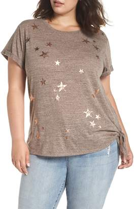 Democracy Wit & Wisdom Star Print Tee