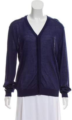 Calvin Klein Collection Sheer Knit Cardigan w/ Tags