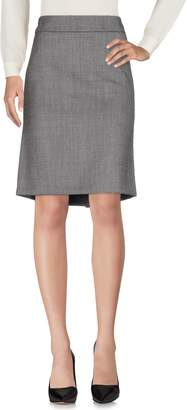 Paoloni Knee length skirts