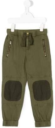 Stella McCartney knee patch trousers