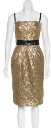 Dolce & Gabbana Metallic Evening Dress