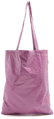 Farah SIES MARJAN crinkled-laminated vinyl tote bag