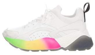 Stella McCartney Vegan Eclypse Rainbow Sneakers