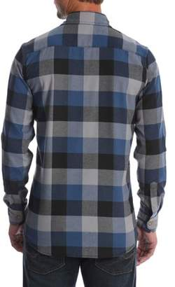 Wrangler Men's and Big & Tall Long Sleeve Snap Flannel Shirt, up to Size 5XL