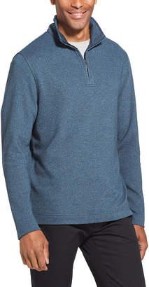 Van Heusen Flex Quarter-Zip Sweater