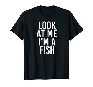 Fish Costume Group Easy Outfit Shirt for Halloween