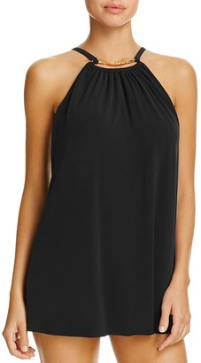 Magicsuit Parker Keyhole Neck Swim Dress $166 thestylecure.com