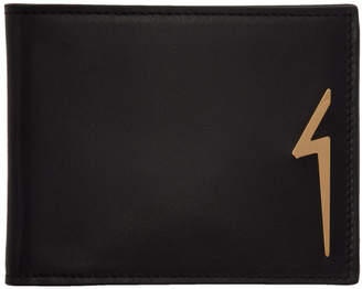 Giuseppe Zanotti Black Albert Flash Wallet