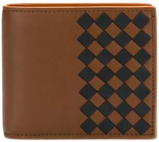 Bottega Veneta woven texture wallet