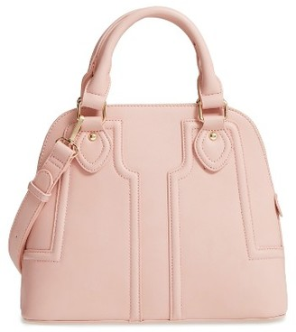 Sole Society Dome Satchel - Pink $59.95 thestylecure.com