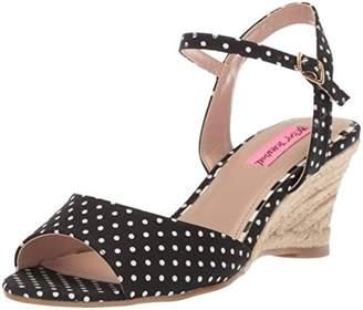 Betsey Johnson Women's Athena Espadrille Wedge Sandal
