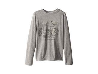 Life is Good Holiday Off-Road Crusher Long Sleeve T-Shirt (Little Kids/Big Kids)