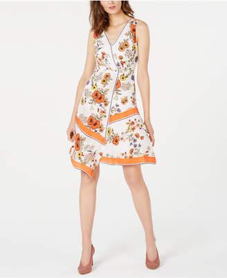 Elie Tahari Jannele Floral-Print Dress