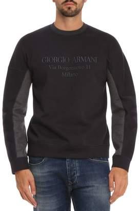 Giorgio Armani Sweatshirt Sweatshirt Men