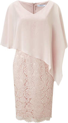 Jacques Vert Lace And Chiffon Dress