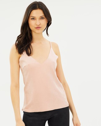 Glamorous Suedette Cami