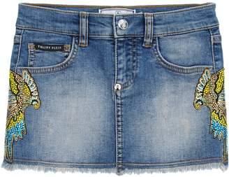 Philipp Plein Denim skirts - Item 42643065UM