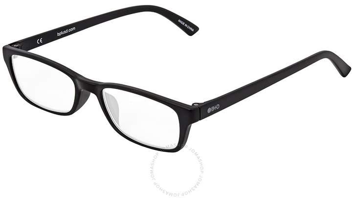 B+D Icon Reader Matt Black Eyeglasses