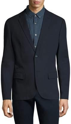 Original Penguin Men's Cotton Woven Blazer