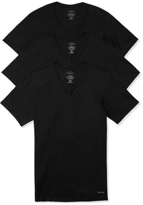 Men's Calvin Klein Slim Fit 3-Pack Cotton T-Shirt $39.50 thestylecure.com