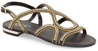Women's Menbur 'Acedera' Embellished Flat Sandal $130 thestylecure.com