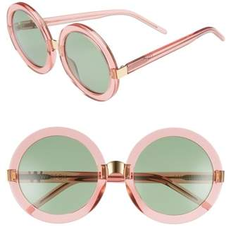 Wildfox Couture 'Malibu' 56mm Round Sunglasses