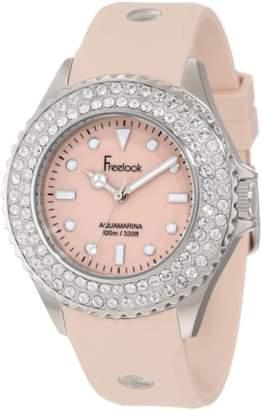 Freelook Women's HA9036-3 Stainless Steel Watch with Swarovski Crystals