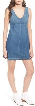 AG Jeans Dana Denim A-Line Minidress