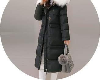 1176b97ee6eb Fashion-Sex down jacket White Duck Down Jacket Women Goose Feather Coat  Long Winter Hooded