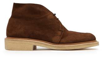 Tricker's Monty Suede Desert Boots - Mens - Dark Brown