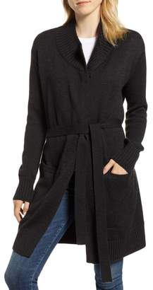 Velvet by Graham & Spencer Long Belted Cardigan