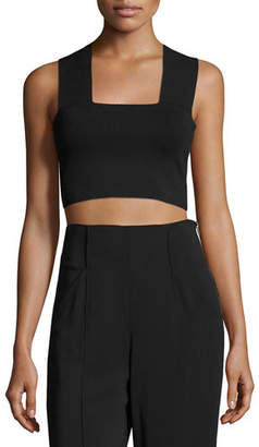 A.L.C. Ali Stretch Racerback Crop Top