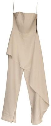 Aq/Aq Aqaq White Jumpsuit for Women