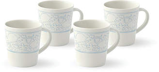 ED Ellen Degeneres Crafted by Royal Doulton Polar Blue Mug, Set of 4