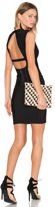 BCBGMAXAZRIA Oralie Open Back Dress $338 thestylecure.com