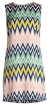 M Missoni Women's Printed Chevron Dress
