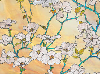 JCPenney Brewster Wall Dogwood Blossom Premium Privacy Window Decal