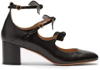 Chloé Mike leather pumps