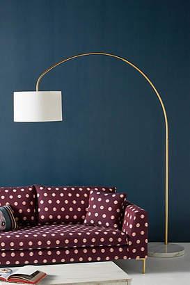 Anthropologie Brass Arch Floor Lamp