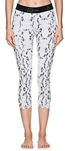 Aurum AURUM WOMEN'S MINDFULNESS SNAKESKIN-PRINT CROP LEGGINGS