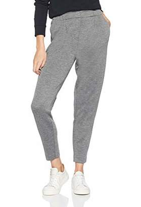 d81d68aef7b8a1 Tommy Hilfiger Women's Jannalee Pull On Cropped Pant Trouser, Medium Grey  HTR 992, (