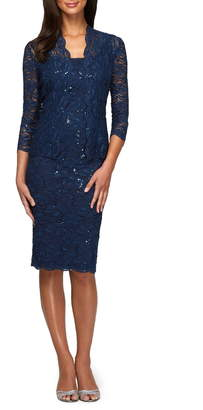 Alex Evenings Lace Dress & Jacket