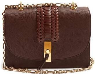 Altuzarra Ghianda braided pebbled-leather shoulder bag