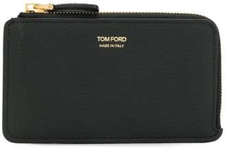 Tom Ford embossed zip around wallet