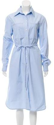Calvin Klein Structured Shirt Dress w/ Tags